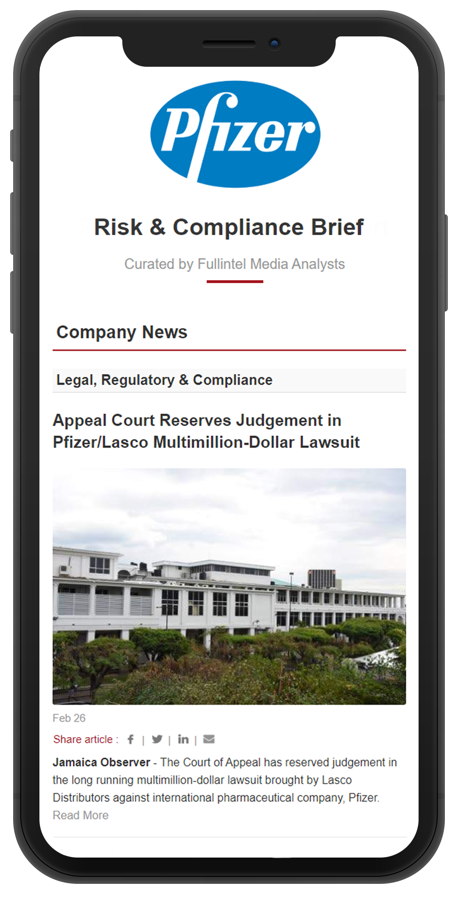 Risk & Compliance Brief iPhone