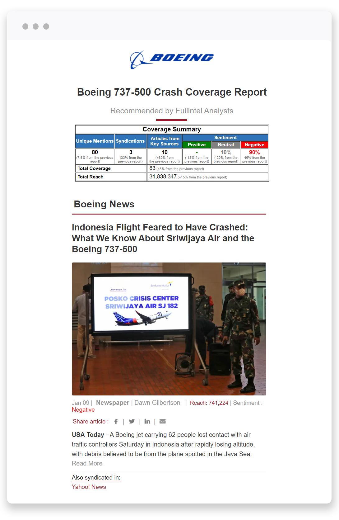 RCC Crisis Coverage Report